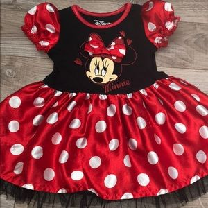 2-T Minnie Mouse dress from The Disney Store